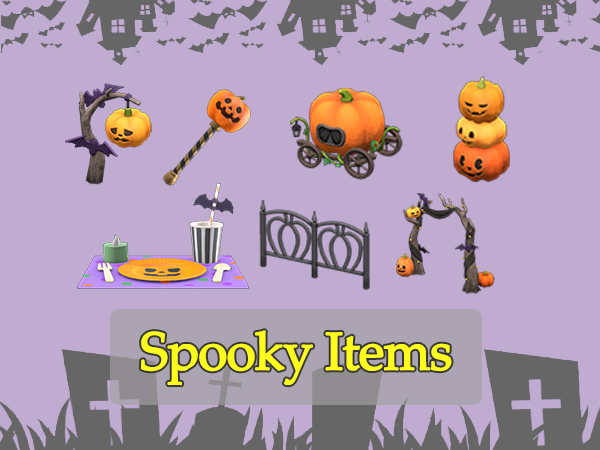 Spooky Items