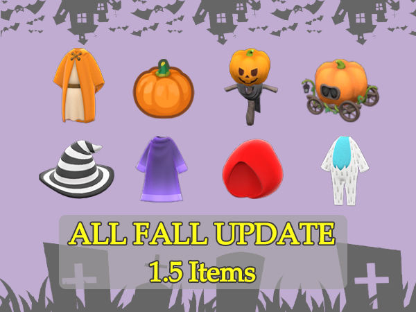 ALL Update 1.5 Items