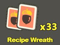 Recipes: Wreath x33