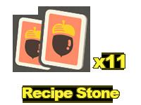 Recipes: Stone x11