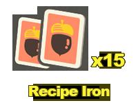 Recipes: Iron x15
