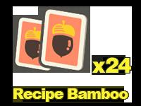 Recipes: Bamboo x24