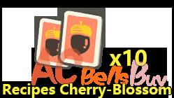 Recipes: Cherry-Blossom X10