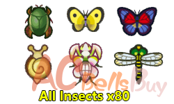 All Insects x80