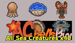 All Sea Creatures x40
