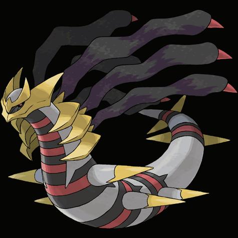 Shiny Giratina (Origin Forme)