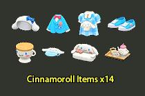 Cinnamoroll Items ×14