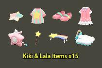 Kiki & Lala Items ×15