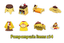 Pompompurin Items ×14