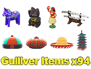 Gulliver Items x94