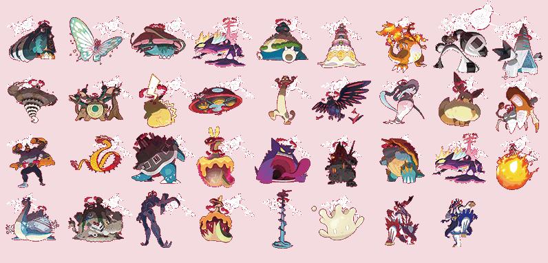 35 x Gigantamax Pokemon