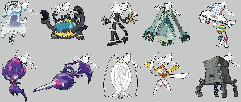 11 x Ultra Beast Pokemon