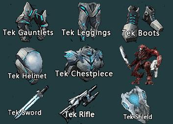 Tek equipment