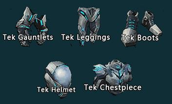 Tek suit integrate(Low attribute)