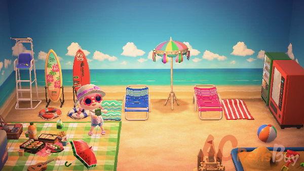 Seaside Sunbathing