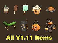 All V1.11 Items
