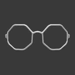 octagonal glasses