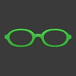 oval glasses
