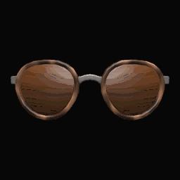 round tinted shades