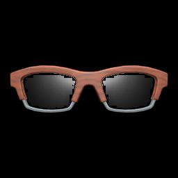 wooden-frame glasses