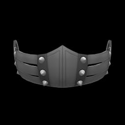 pleather mask