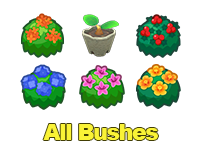 All Bushes & Tree