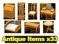 Antique Housewares x33