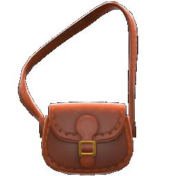 pleather shoulder bag