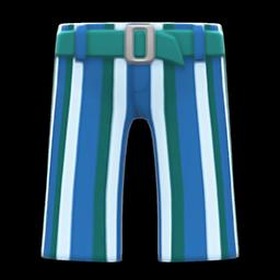 striped bell-bottoms
