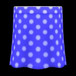 long polka skirt