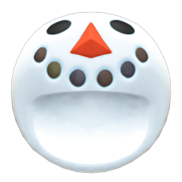 snowperson head