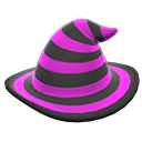 mage's striped hat
