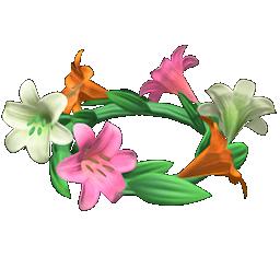 Recipe: cute lily crown
