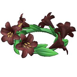 Recipe: dark lily crown
