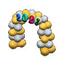 2021 celebratory arch