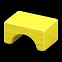 wooden-block stool
