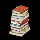 Recipe: stack of books