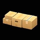 Recipe: cardboard bed