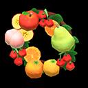 Recipe: fruit wreath