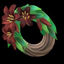 Recipe: dark lily wreath