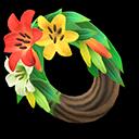Recipe: lily wreath