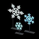 Recipe: illuminated snowflakes