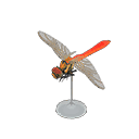 red dragonfly model