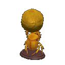 golden dung beetle