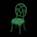 Recipe: iron garden chair