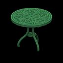 Recipe: iron garden table
