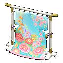 elaborate kimono stand