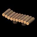 Recipe: log garden lounge