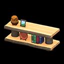 Recipe: log decorative shelves