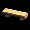 Recipe: log bench